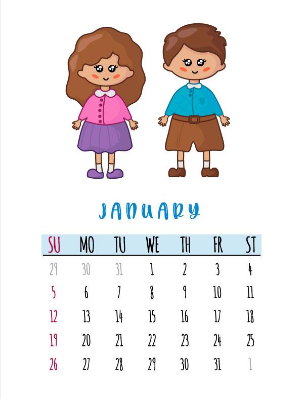 school calendar printables 2020 - school calendar 2020 template pdf download