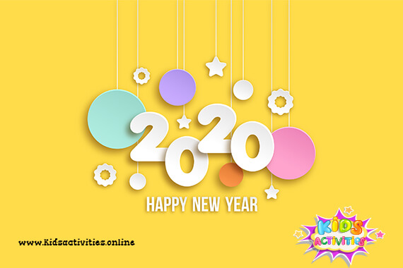 Free New year 2020 e Cards - free happy new year greetings