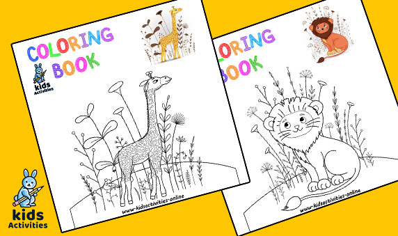 Free zoo coloring pages kindergarten pdf