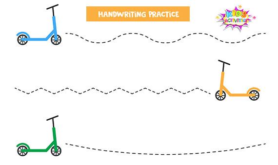 Handwriting Practice Sheets Kindergarten - Free Printable