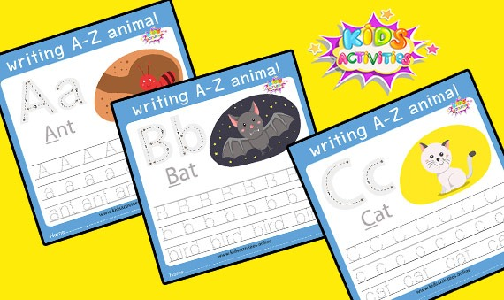 Tracing letters worksheet