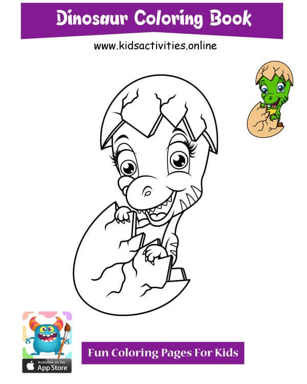 dinosaur doodle art