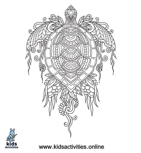 Summer coloring for adults to print