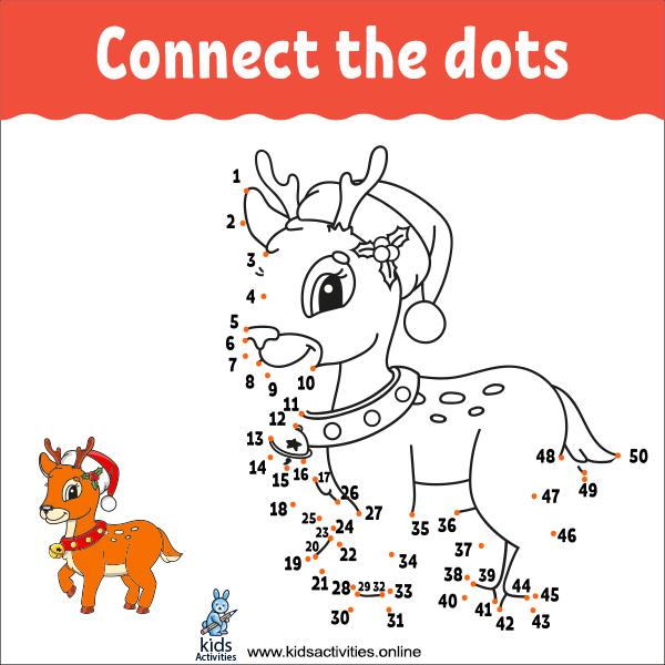 Animal Dot To Dots Printables