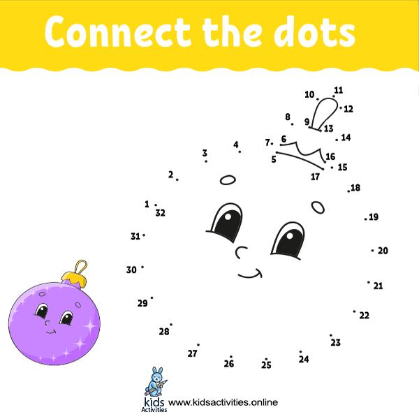 Kindergarten Worksheets Dot To Dot