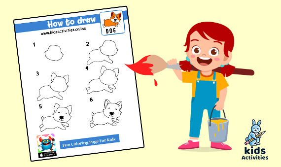 How To Draw Animals For Kids Step By Step