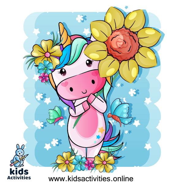 Cute unicorn drawings