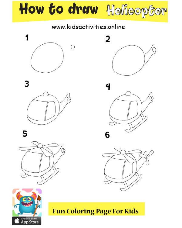 How To Draw Vehicles Step By Step For Kids