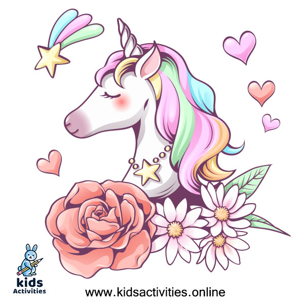 Unicorn cartoon drawing anime unicorn girl
