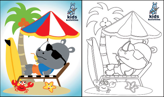 Free Printable Coloring Pages Of Summer