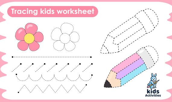 Pre-Writing Worksheets For Preschool Free Printables ⋆ Kids Activities
